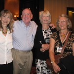 Rev. Helen Roach, Dr. Raymond Moody, Rev. Susan Guimond, Maija Lilja - July 2011